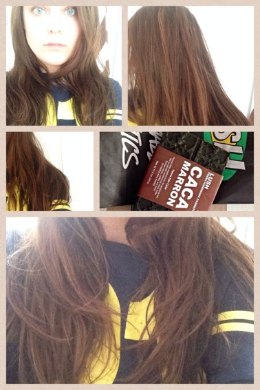 Review Tutorial Lush Caca Marron Henna Hair Dye Diy Before After